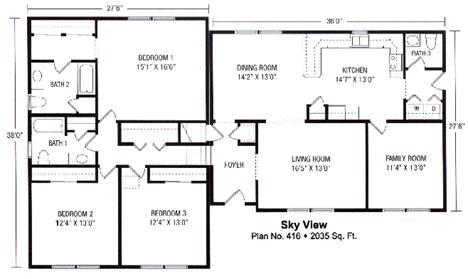 Sky View Split Level Modular Home foor Plan Split Level Modular Home Designs on split level loft designs, split level home floor plans, victorian modular home designs, split level ranch home designs,